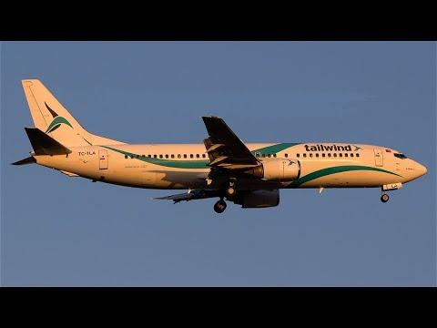 Tailwind B734: From Ercan/Cyprus to Bratislava/Slovakia via Antalya/Turkey