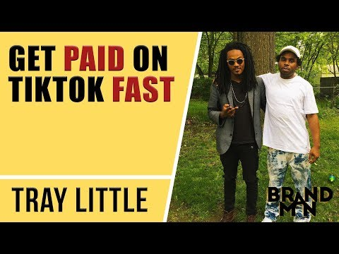 Rapper's Tips To Make Easy Money On TikTok (You Can make $1000s) | Tray Little