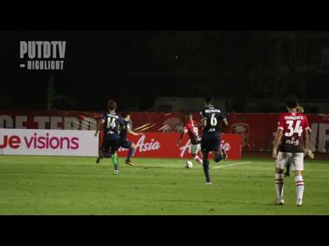 PUTDTV Match Highlight : Thai League 2017 : Police Tero 2 - 0 Pattaya United