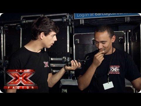 Matt Richardson Becomes an X Factor Floor Manager -- Auditions Week 2 -- The Xtra Factor 2013
