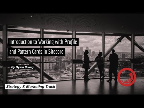 Marketing Training  - Profile and Pattern Cards