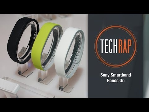 Sony Smartband & Lifelog app hands-on review
