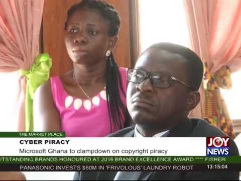 Cyber Piracy - The Market Place on Joy News (23-11-16)