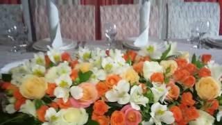 """Оформление свадьбы ресторан """"Райский Уголок"""" г.Юбилейный"""
