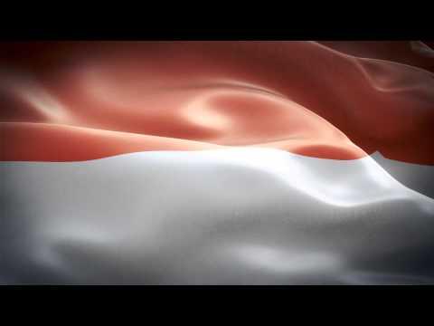 Monaco anthem & flag FullHD / Монако гимн и флаг  / Monaco hymne et le drapeau