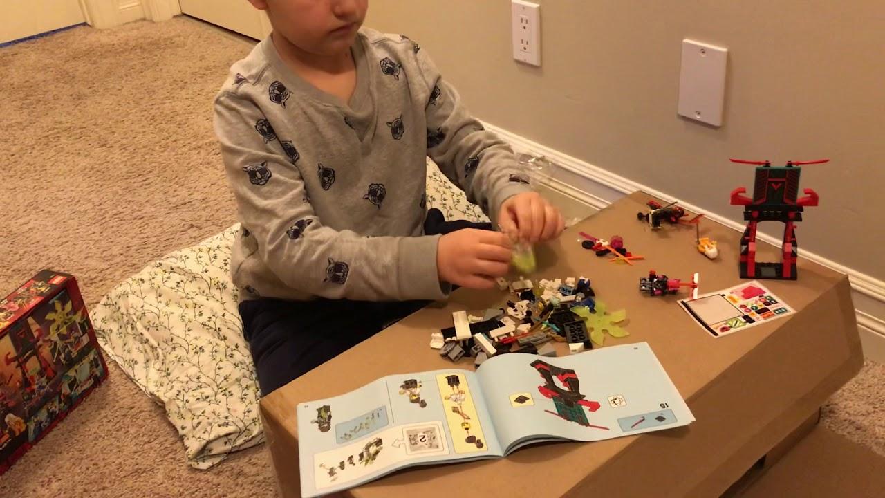 Ninjago lego box opening 9 characters 71708. and 218 ...