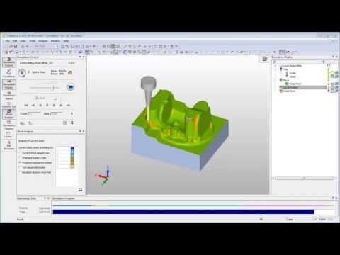 CimatronE 11 CAD/CAM – NC – Simulatore