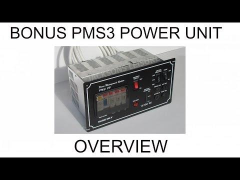 Bonus electrical PMS 3H Power Management System supply unit for campervans motorhomes caravans