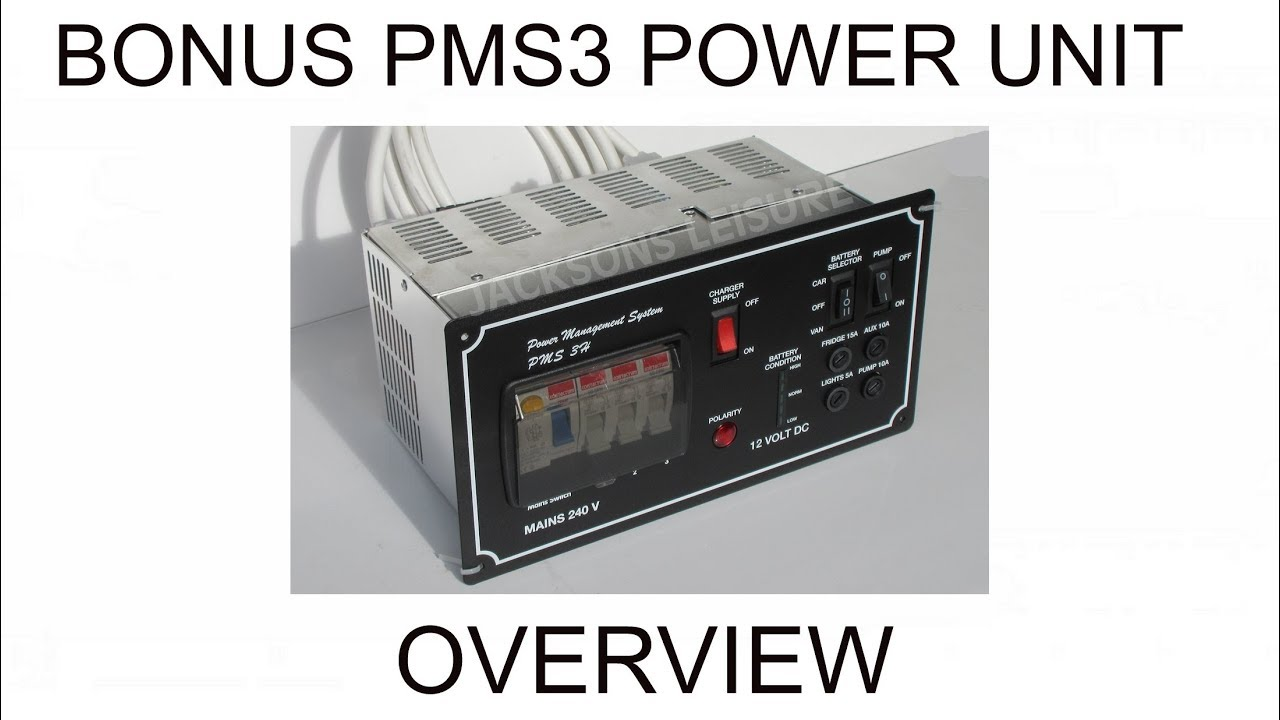Bonus Electrical Pms 3h Power Management System Supply Unit For Zig Wiring Diagram Campervans Motorhomes Caravans