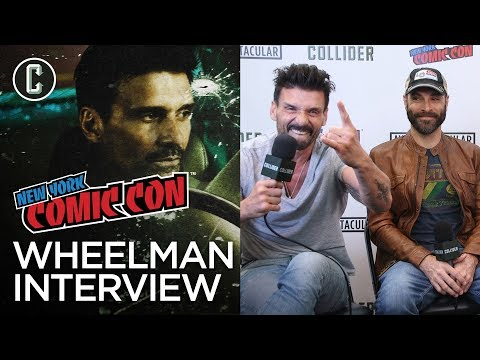 Frank Grillo & Jeremy Rush Talk Wheelman, FBomb Count & Working with Netflix  NYCC 2017