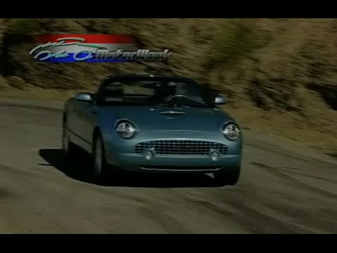 MotorWeek | Retro Review: '02 Ford Thunderbird