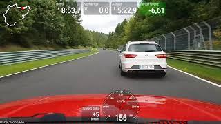 VW Golf 2 GTi 16V, Nordschleife 03.10.17, 8.40 Min BTG