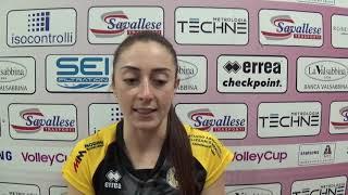 #Pallavolo A1 femminile - Brescia-Novara 3-2: Isabella Di Iulio