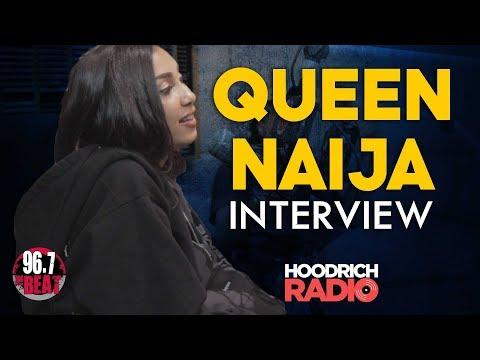DJ Scream - Queen Naija Interview with DJ Scream on Hoodrich Radio