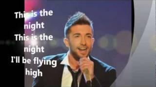 Eurovision 2012 Malta- Kurt Calleja- This is the Night- Lyrics (HD)