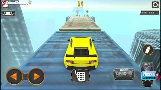 Impossible Tracks Stunt Racing / Stunt Car Driver / Android Gameplay Video