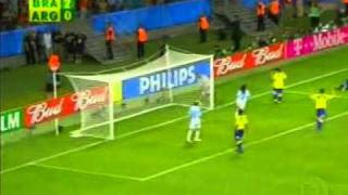 Copa Das Confederações 2005   Brasil 4x1 Argentina