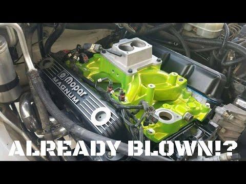 Cammed 380+hp Dakota Motor CARNAGE!!