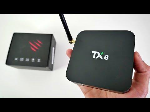 TANIX TX6 - Android TV Box - Allwinner H6 - 4+32GB - ALICE UX