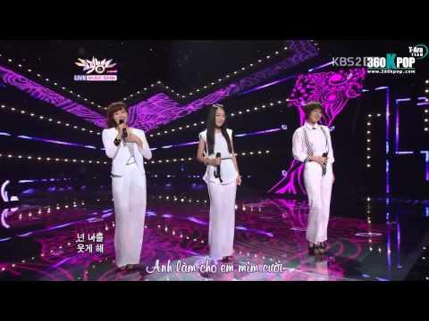 Vietsub 110708 BGH to ft Eunjung T-ara - I Love Always Be Happy  KBS  Bank