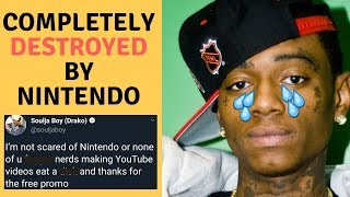 Soulja Boy LOSES To Nintendo! Total Blow Out!