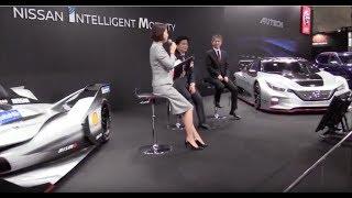 大阪オートメッセ2019 にて #NissanGTR #フェアレディZ 統括責任者田村...