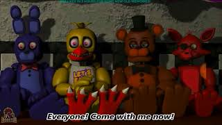 Five goofy nights at Freddy's 4 fnaf hilarious parody movie 4