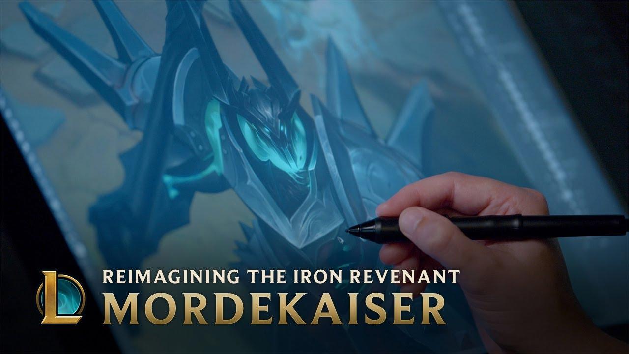 Mordekaiser: Reimagining the Iron Revenant - Behind the Scenes   League of Legends