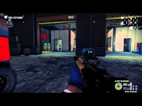 Payday 2 - Dockyard DW - 1P stealth, 75 detection, no assets, no dead civilians (Patch 63)
