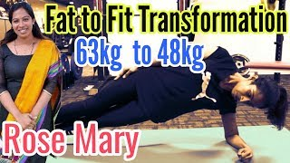 Fat to Fit Transformation Malayam |Female Fitness