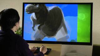 uDraw Instant Artist Time Lapse with EJ SU HD game trailer - PS3 X360 Wii
