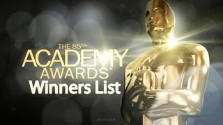 85th academy awards - Oscar awards 2013 Winners List