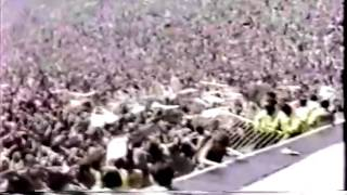 Metallica - riot at Metallica concert - Monsters Of Rock - 24-07-1988