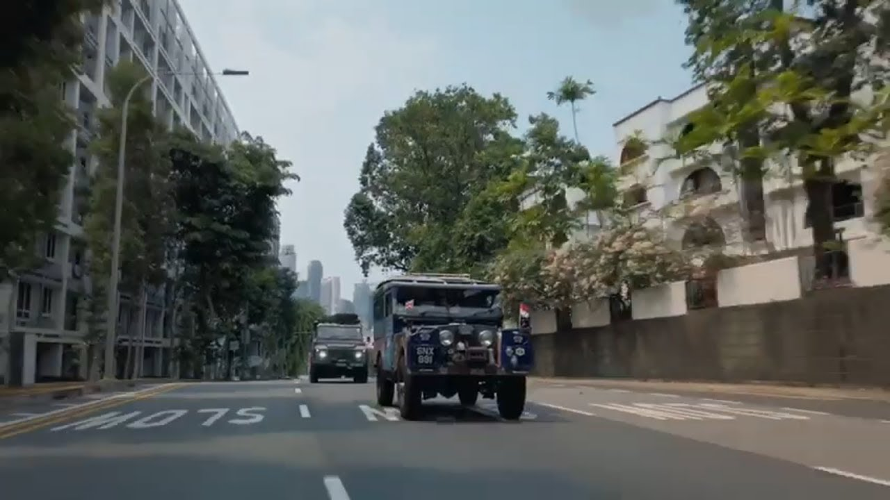 The Last Overland - A Land Rover Film - Singapore to London