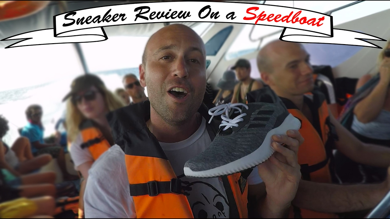 9007adbbc046f Sneaker Review on a Speed Boat - Adidas Alphabounce RC - Mr Stoltz 2017