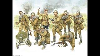 """Лего человечки """"Красноармейцы. Вторая мировая война""""."""