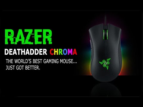 Razer Deathadder Chroma Unboxing/Hands On Review
