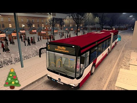 OMSI 2 Weihnachtsmarkt-Shuttle auf Lemmental ☆ Lets Play OMSI 2 | #706