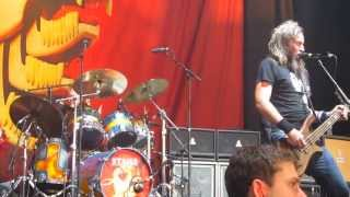 Mastodon - Spectrelight / Bedazzled Fingernails Live at Rockstar Energy Drink Mayhem Festival 2013