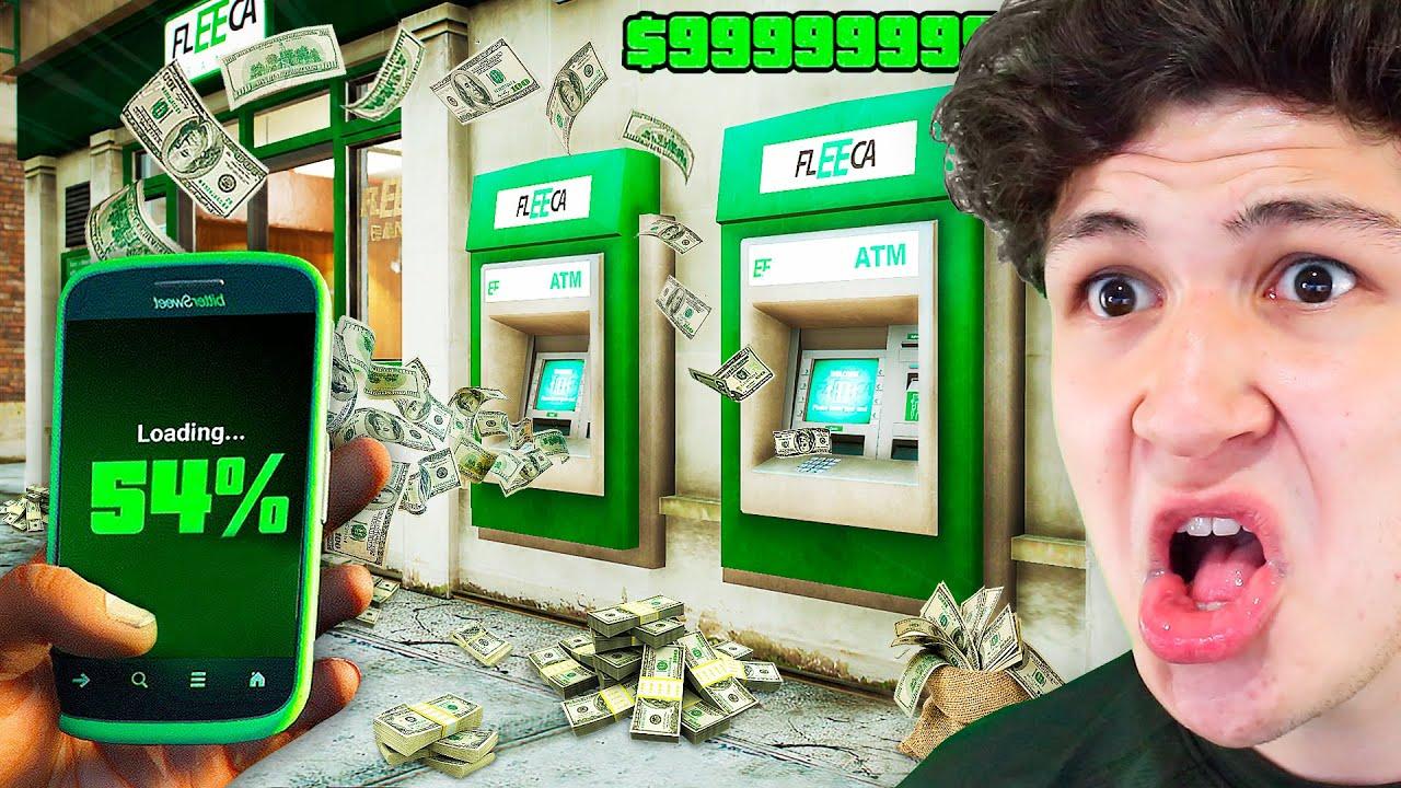 ROBANDO MILLONES como un HACKER en GTA 5... (Mods) thumbnail
