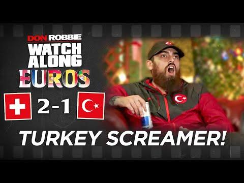 Turkey's SCREAMER GOAL REACTION!
