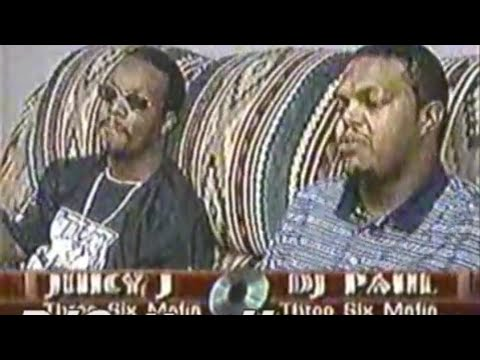 News report on Memphis Rap feat Three 6 Mafia, Playa Fly, Gangsta Pat & Tela (1999)