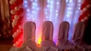 оформление свадебного  стола в орле