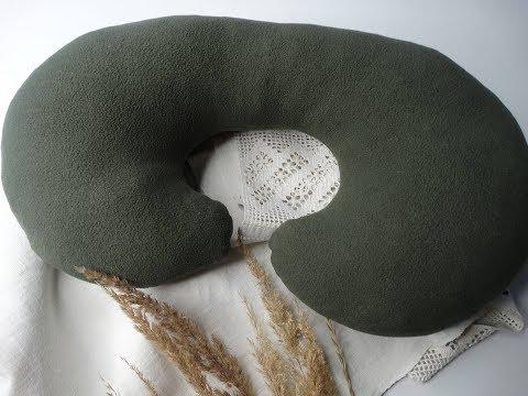 Подушка для путешествий своими руками