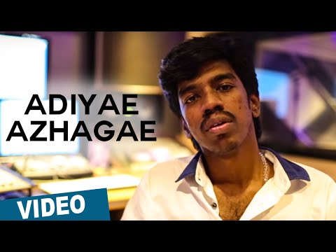 Adiyae Azhagae Official Making Video | Oru Naal Koothu | Justin Prabhakaran | Sean Roldan