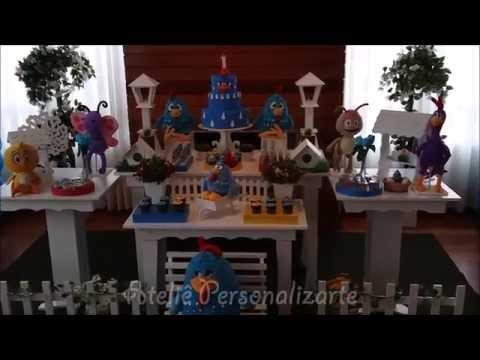 Decoração de festa infantil Galinha Pintadinha