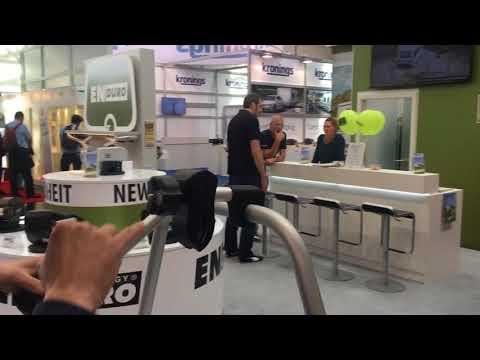 Nieuw verschuifbare fietsendrager Enduro BC260 voor dissel caravan