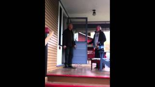 Steve Rice's Surprise Birthday Party - Opening The Door