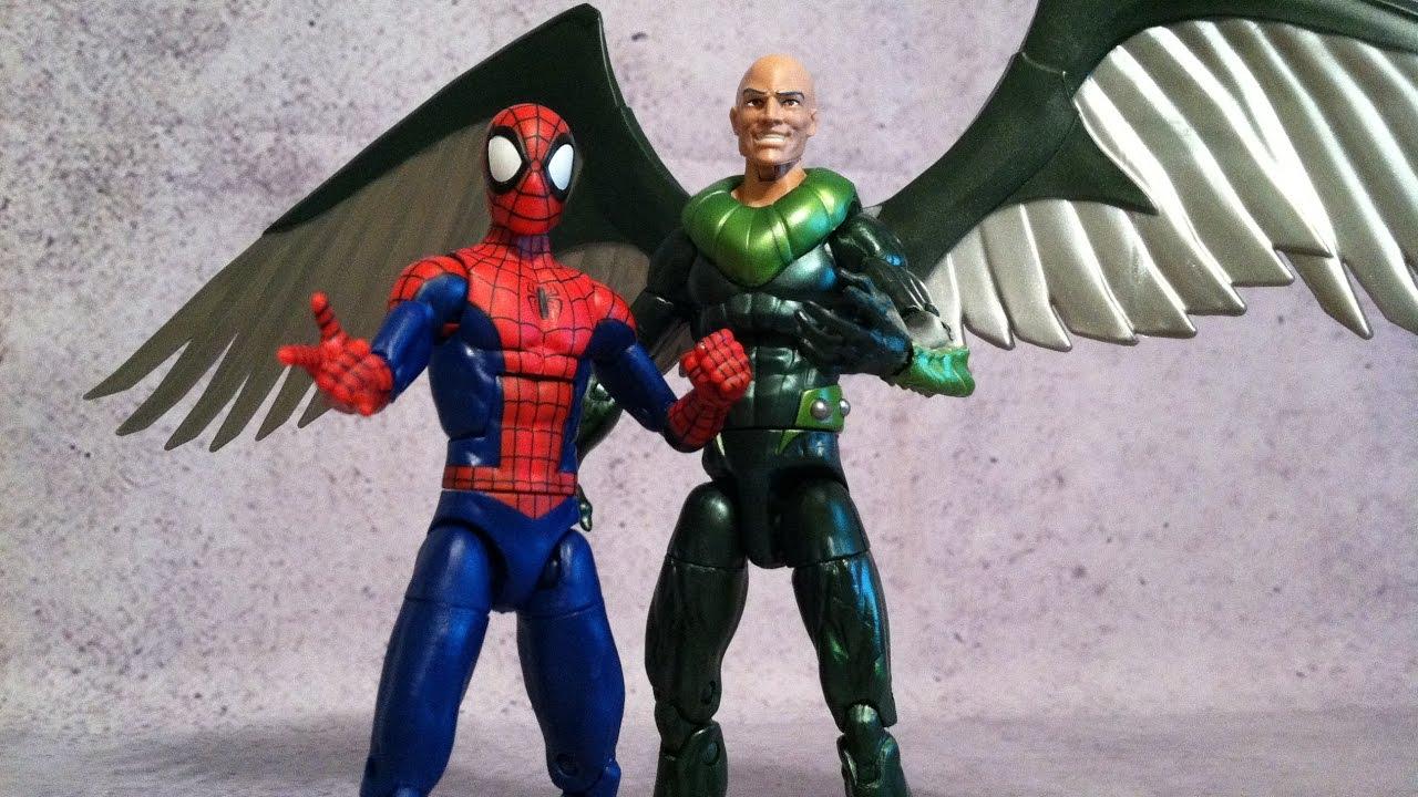"Marvel Legends Walmart exclusive Spider-Man 2-Pack Spider-man 6/"" action figure"