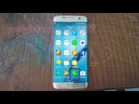 Samsung Galaxy S7 Edge : How to Make video call (Android Marshmallow)